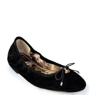 Felicia Suede Ballet Flat