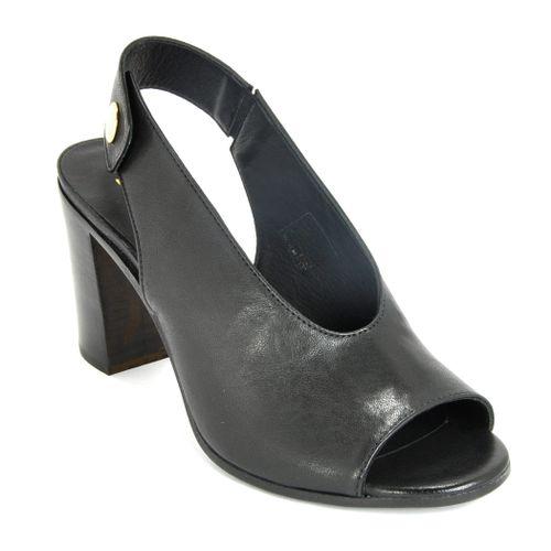 1652 Leather High Sandal