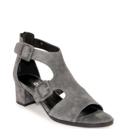 Orly Buckled Suede Sandal
