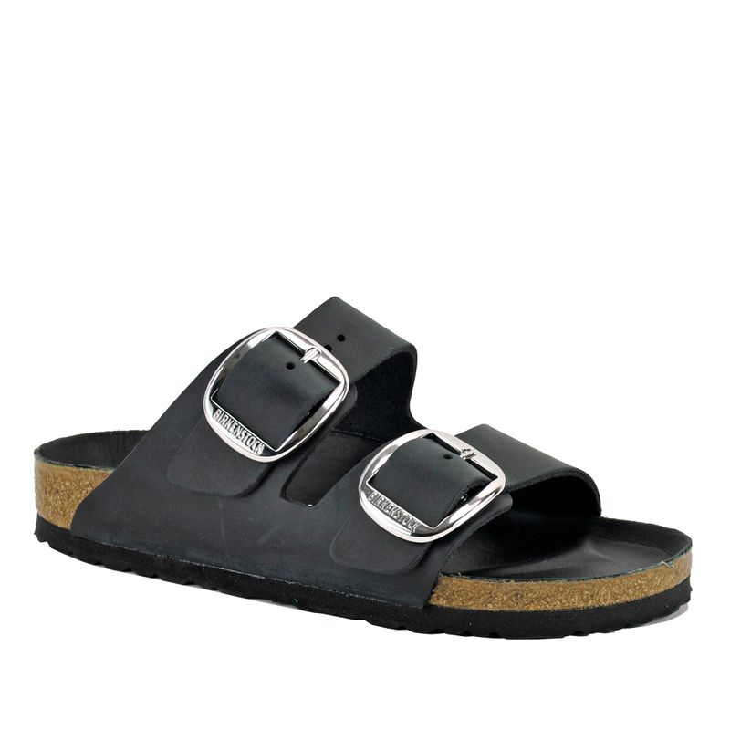 Arizona-1011075-Big-Buckle-Footbed-Slide-35-Black
