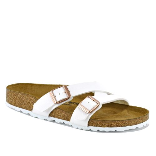 Yao Leather Flat Footbed Slide