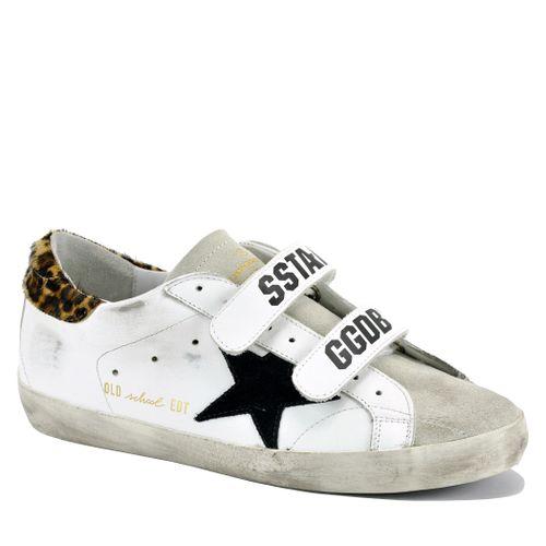 Old School B3 Leather Velcro Sneaker