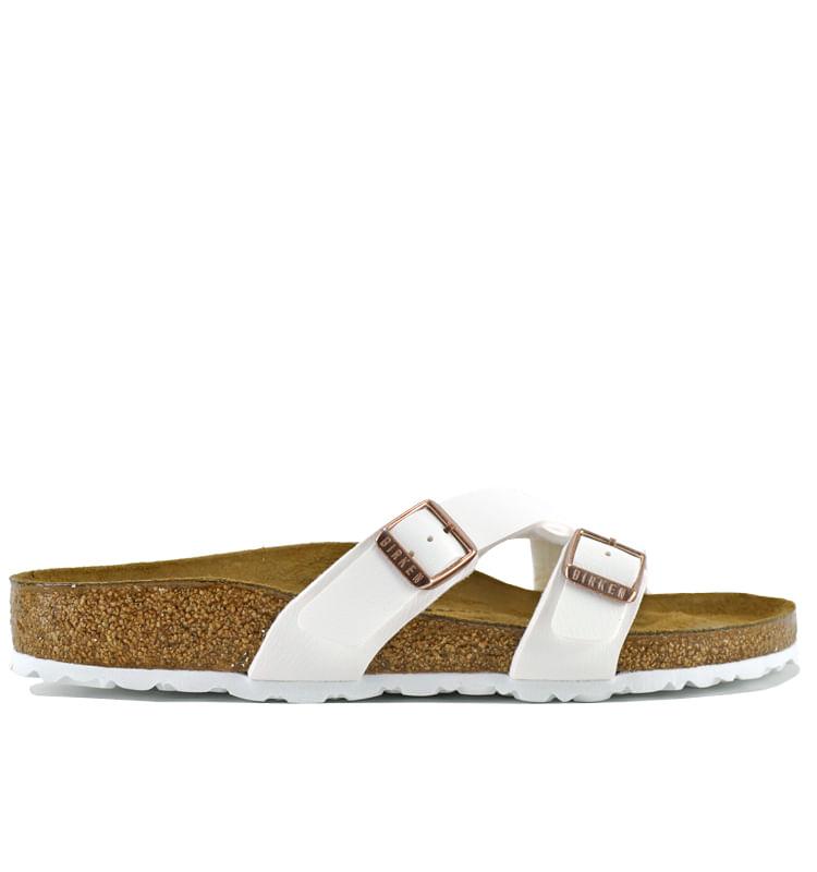 Yao-Leather-Flat-Footbed-Slide-Birkenstock_Yao1016761_White_36Medium