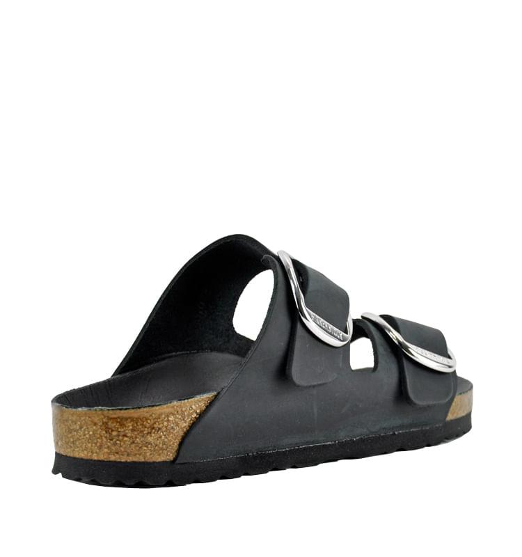 Arizona-1011075-Big-Buckle-Footbed-Slide-36-Black-2
