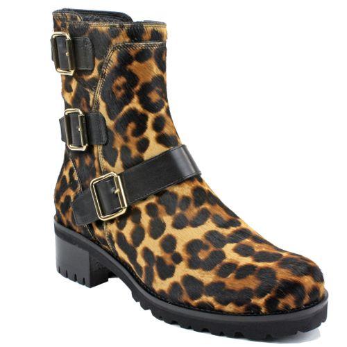 2559 Leopard Hiker Boot