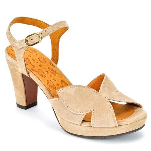 Ebisa Suede Platform Sandal