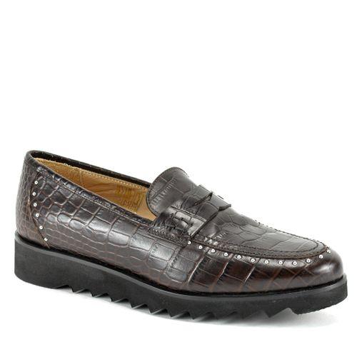 825 Croc Flat Loafer