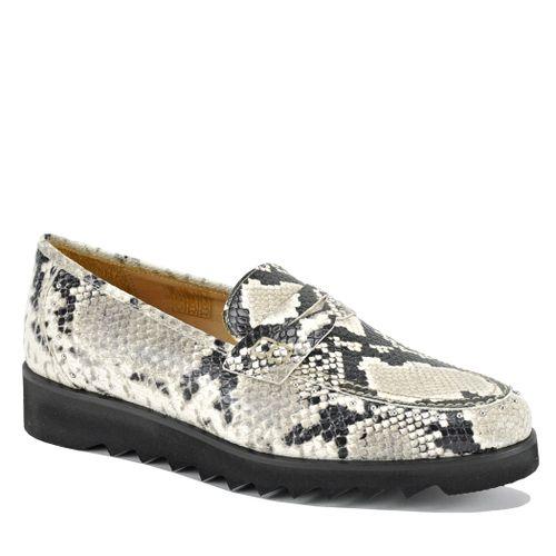 825 Snake Flat Loafer