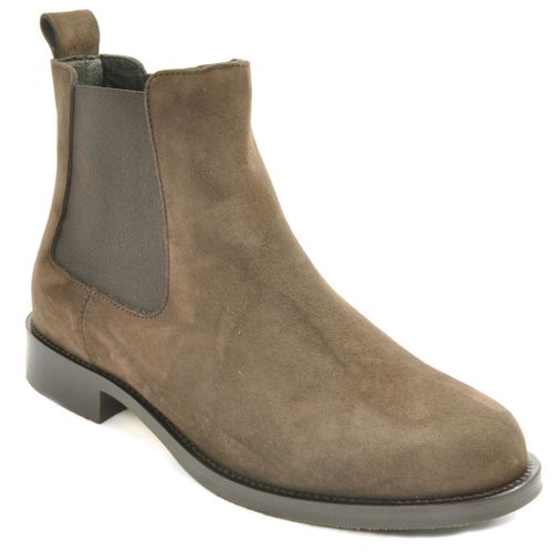 D8123 Suede Ankle Boot