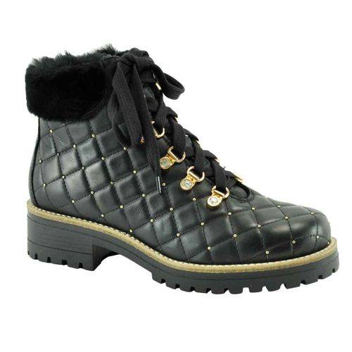Emory Quilted Leather Boot