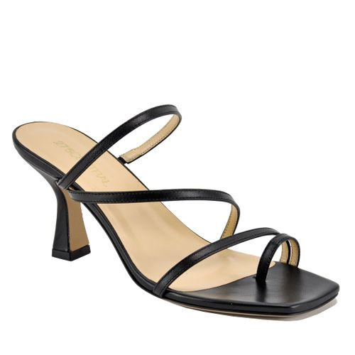 Florence Leather Strappy Heel