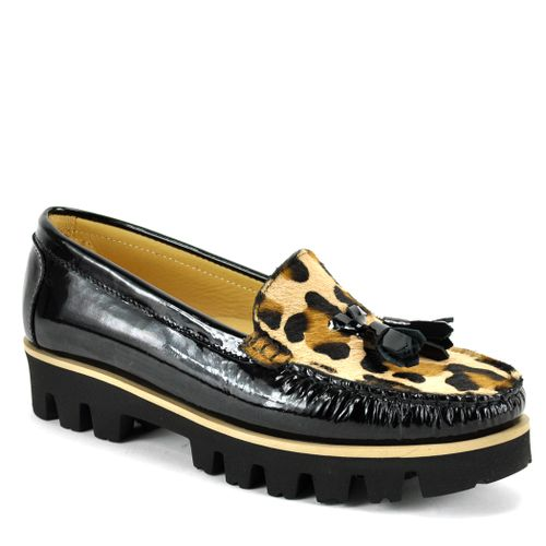 Listing Patent Combo Closed Loafer