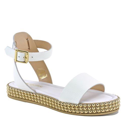 Panarin Leather Flatform Sandal