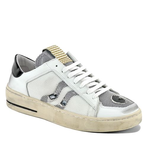 Perry Mesh Leather Sneaker