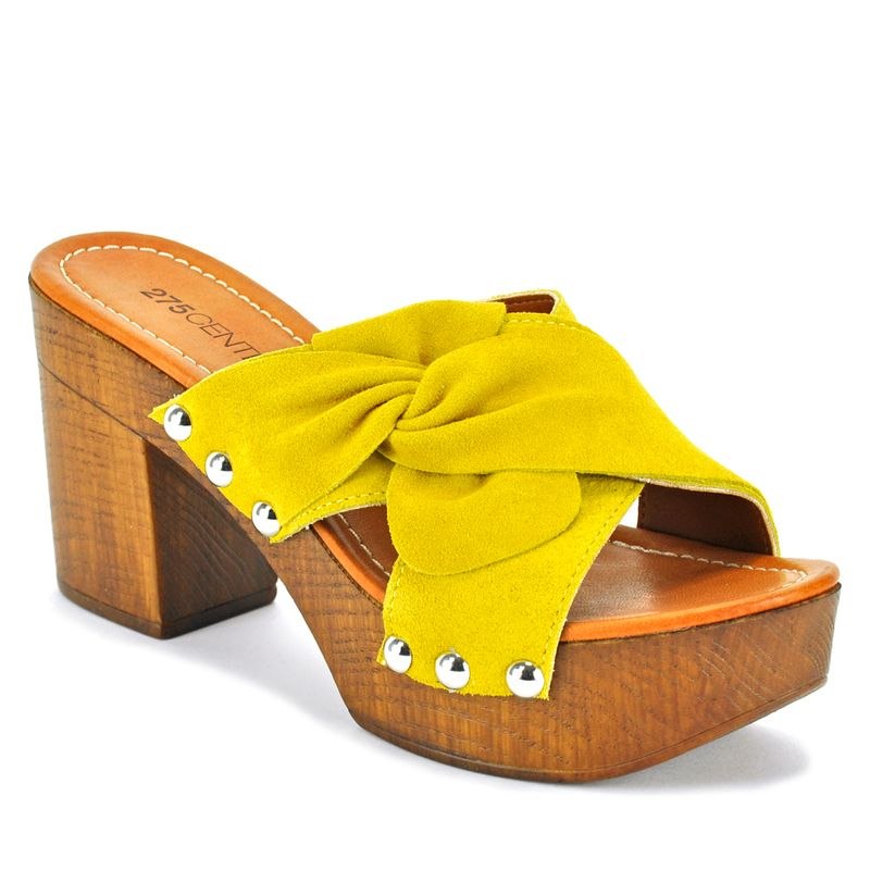 Sabrina-Suede-Wood-Heel-Slide-275Central_SabrinaSandal_Yellow_39Medium