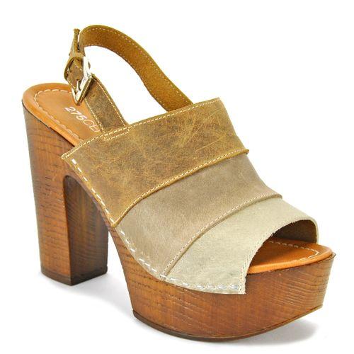 Sunday Leather Wood Sandal