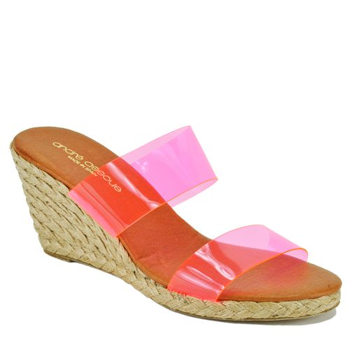 Anfisa Lucite Wedge Espadrille