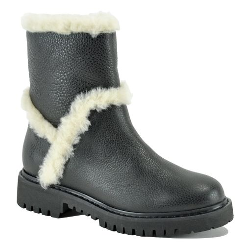 Jillian Weatherproof Leather Fur Boot