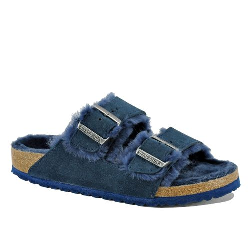 Arizona Suede Shearling Slide
