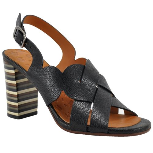 Balbina Leather Slingback Sandal