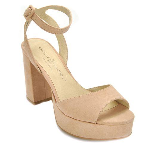 Theresa Suede Platform Sandal