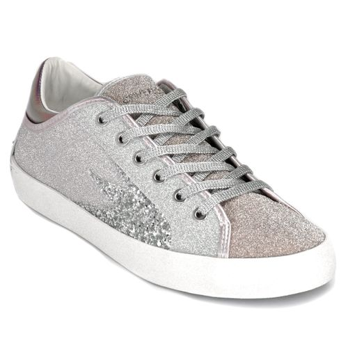 Faith Lo Rose Gold Glitter Sneaker