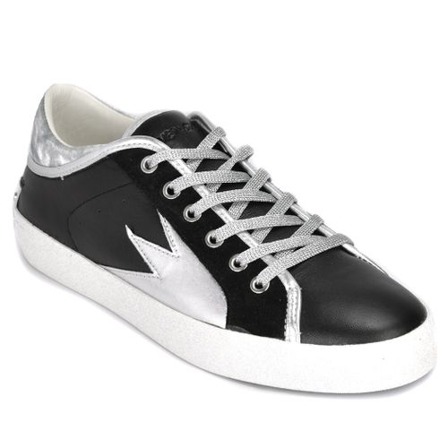 Faith Lo Leather Low Top Sneaker