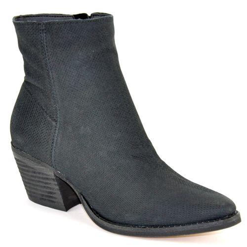 Asha Nubuck Heel Bootie
