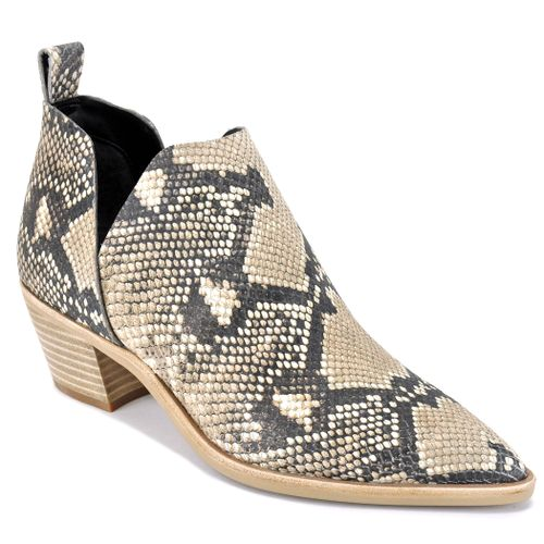 Sonni Snake Ankle Bootie