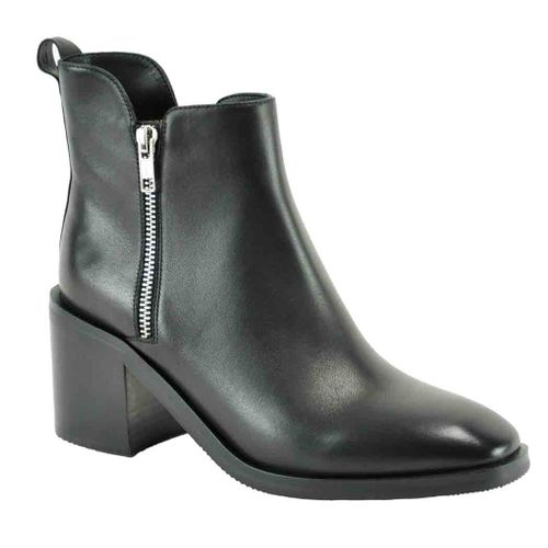 Camy Leather Bootie