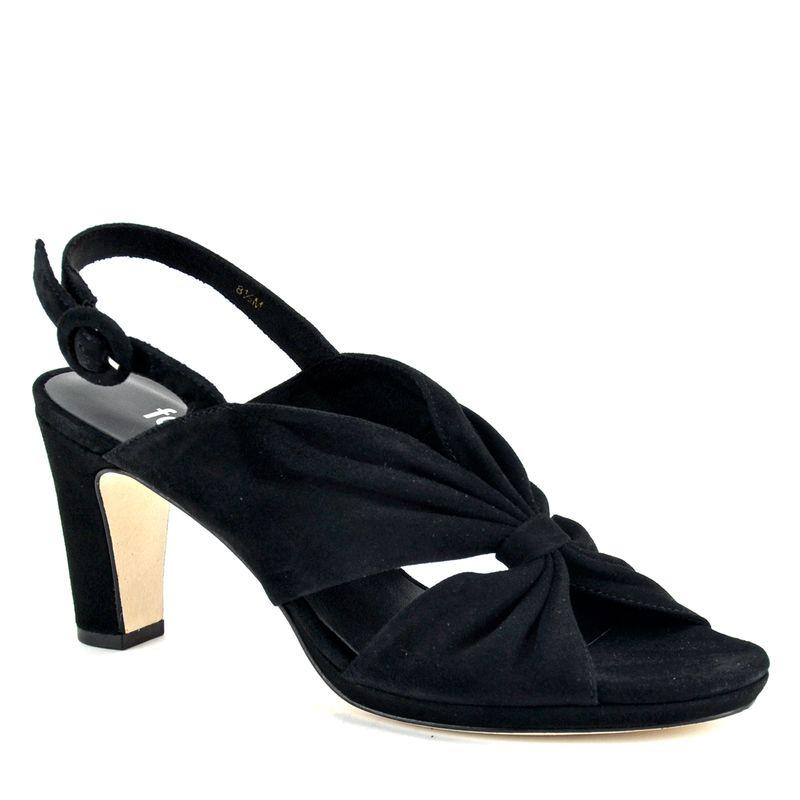 Karol-Suede-Pleated-Heel-Sandal-Footnotes_Karol_Black_6Medium