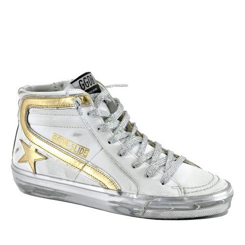 Slide 10380 Leather High Top Sneaker