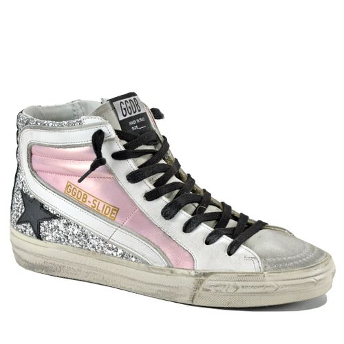Slide 80241 Leather High Top Sneaker