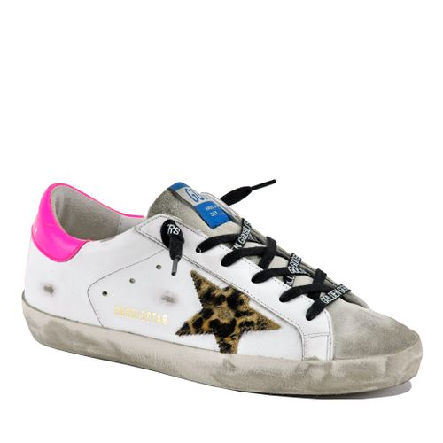 Superstar 80164 Leather Low Top Sneaker