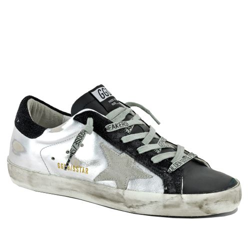 Superstar 80255 Leather Low Top Sneaker