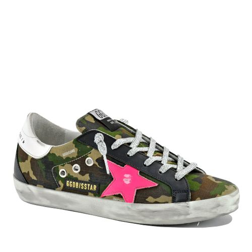 Superstar 80257 Camo Low Top Sneaker