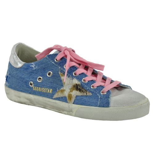 Superstar S86 Denim Low Top Sneaker
