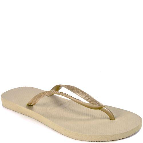 Slim Rubber Flat Thong