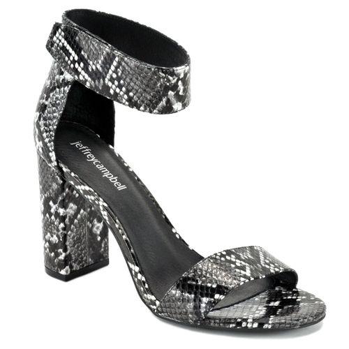 Lindsay Snake Ankle Strap Sandal