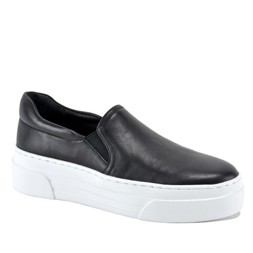 Aileen Leather Platform Sneaker
