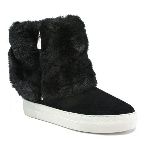 Apple Suede Fur Sneaker