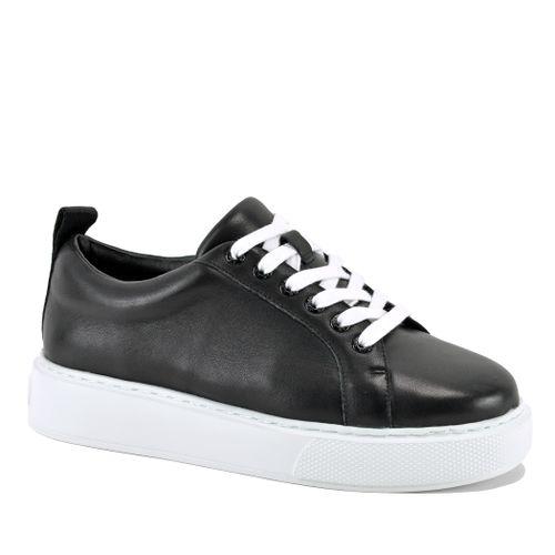Delilah Leather Platform Sneaker