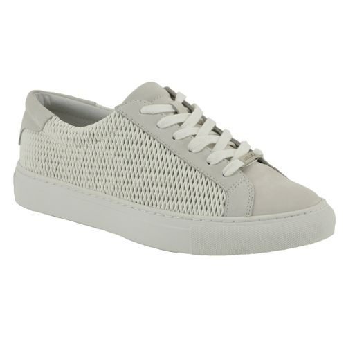 Lacee Laser Leather/Suede Low Top Sneakers