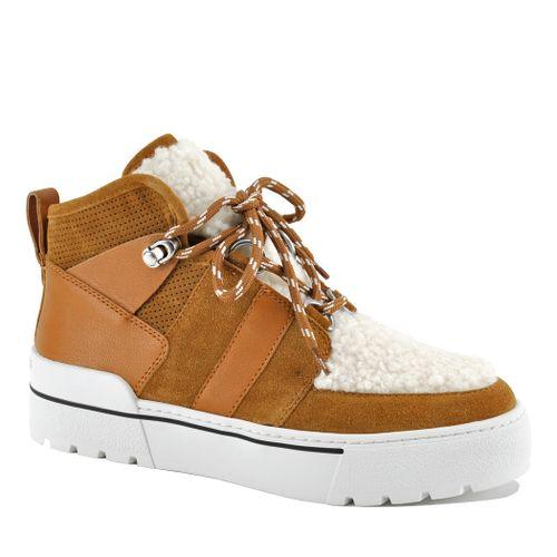 Nell Suede Fur Sneaker