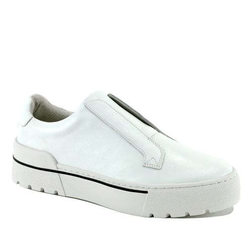 Nyrie Leather Slip On Sneaker