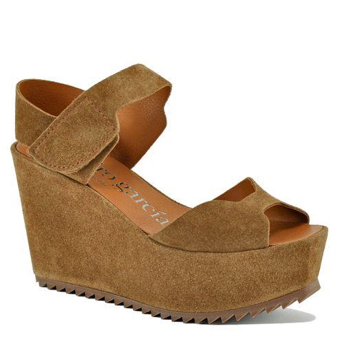 Utiel Suede Wedge Platform Sandal