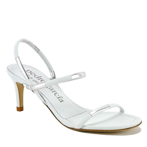 Xalina Leather Heel Sandal