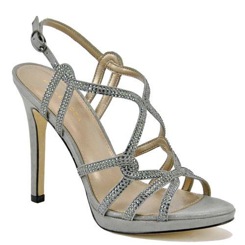 Jonah Metallic Platform Sandal