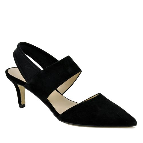Keys Suede Closed Pump