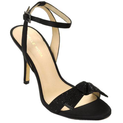 Kim Satin Satin Open Toe Sandal